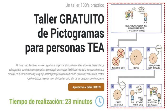 taller pictogramas personas con autismo